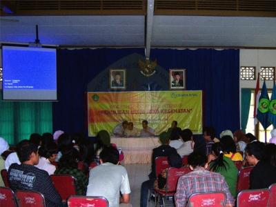 Seminar Kesehatan:  <>